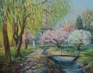 Весна в Асанбае