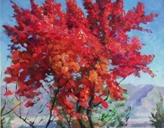 Осень в предгорьях Ала-Тоо