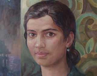 Портрет Лины Гхош