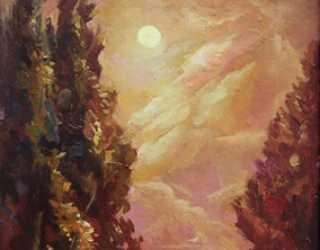 Ночь на Иссык-Куле