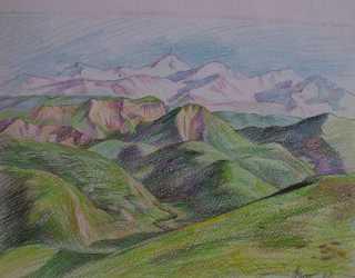 Весенние холмы
