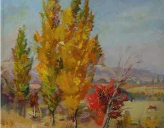 Осень в селе Арашан